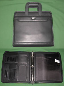 Monarch 1 5 Faux Leather Franklin Covey 365 Planner Day One Binder Handles