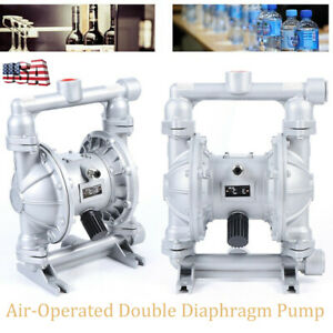 Air operated Double Diaphragm Pump 24 Gpm 1 Inch Inlet outlet 1 2 Inch Air Inlet