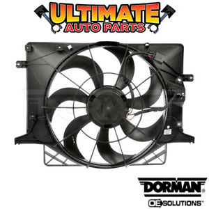 Radiator Cooling Fan 2 0l Turbo For 10 12 Hyundai Genesis coupe
