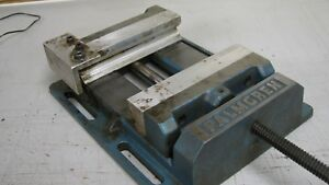 Palmgren Drill Press Vise 8 Wide Jaw Open 7 In Used