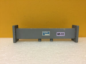 Waveline 506 40 wr 112 7 05 To 10 Ghz 40 Db Waveguide Fixed Attenuator