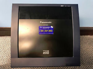 Panasonic Kx tde200 Ip Pbx Cabinet With Psu Ipcmpr Dlc16 Lcot8