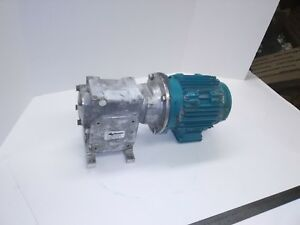 Ryko Gear Motor 1hp 3 Phase With 25 1 Gear Reducer
