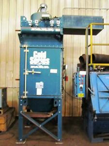 3 000 Cfm Farr G s 4 Gold Series Dust Mist Collector 7 5 Horse Power Pulse Type