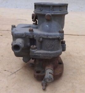 1934 1938 Ford Stromberg 97 Carburetor Original Coupe Sedan Pickup Truck Large