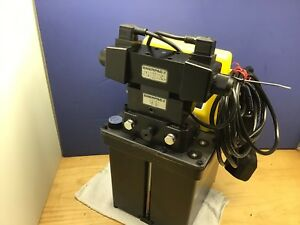 Enerpac Per1401b Double Acting Hydraulic Pump 10 000 Psi New