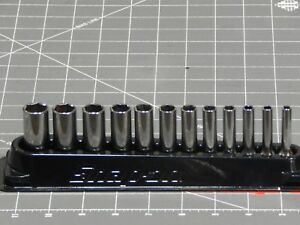 Pick A Set Snap On 1 4 Dr Deep Socket 12pc Metric 5mm 15mm 10pc Sae 5 32 1 2 6pt