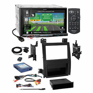 Pioneer 7 dvd Carplay Gps Stereo Dash Kit Bose Harness For Cadillac Escalade