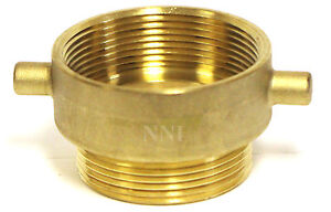 Nni Fire Hose Hydrant Reducing Adapter 3 Female Npt X 2 1 2 Male Nst Nh