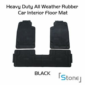 Floor Mats Front Rear Carpet Universal Auto Mat All Season Durable Washable