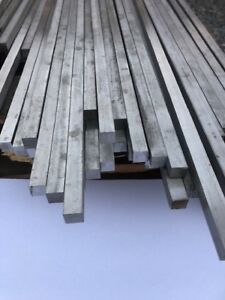 316 Stainless Steel 1 2 Square Bar Per Lineal Ft Pricing