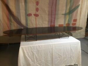 Original Charles Ray Eames Etr Surfboard Table 1950 S