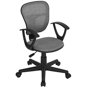 Coavas Kids Desk Chair Ergonomical Mid back Mesh Height Adjustable Chair For