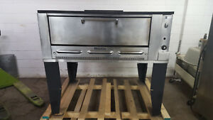 Garland Single Stone Deck Pizza Oven Natural Gas Tested No Tag