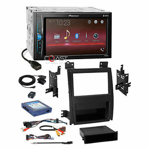 Pioneer 2018 Bluetooth Stereo Dash Kit Amp Harness For 07 Cadillac Escalade