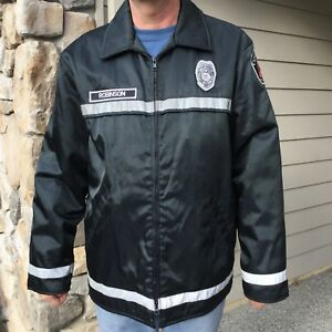 Firefighter Fire Rescue Bunker Turnout Jacket Rain Parka Wa State Kitsap Size 48
