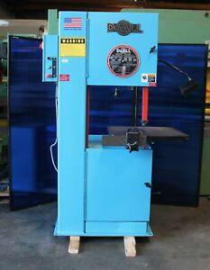 20 Throat Doall 2013 v Vertical Bandsaw Metal Cutting
