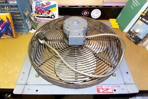 Vintage Dayton 16 Shutter Exhaust Fan Model 2c713a Rpm 1550 115v No Shutter