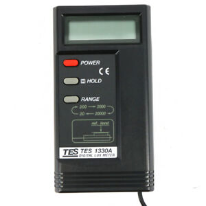Tes Digital Lux Lcd Light Meter Foot candle Lux Meter Tes 1330a