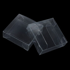 Transparent Plastic Pvc Box Jewelry Chocolate Candy Gift Package Pouch For Party