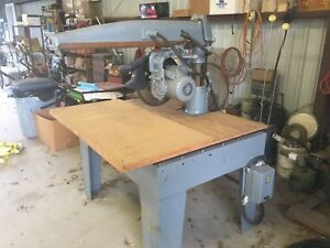 Dewalt Ge 16 Radial Arm Saw