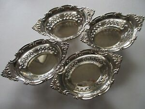 1 Gorham Old Marks Sterling Silver 4 X 2 5 Bonbon Nut Dish No Mono 4 Available
