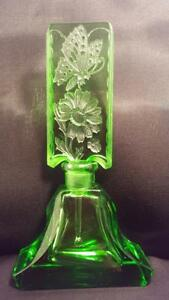 Rare Authentic Hoffman Schlevogt Antique Perfume Bottle Ingrid Collection