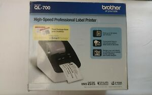 Brother Ql 700 Professional High Speed Thermal Label Maker Printer See Descrip