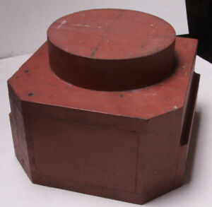 Lamson Industrial Foundry Wood 7x9x10 Column Post Base Mold Pattern M101