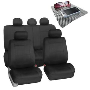 Car Seat Covers For Suv Van Neoprene Universal Fitment Black W Free Gift