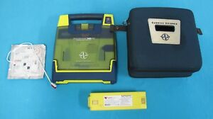 Cardiac Science Powerheart G3 Aed With 2015 Battery Pads Case excellent
