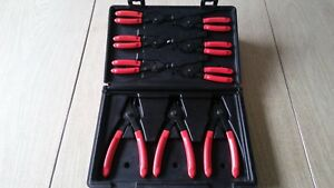 Matco Tools 9pc Combination Internal External Snap Ring Pliers Set