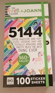 Mambi Happy Planner Mega Sticker Book 100 Sheets 5144 Stickers Joanns Exclusive