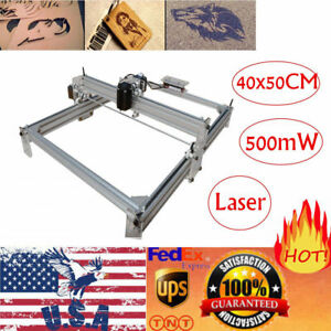 40 50cm Area 500mw Mini Laser Engraving Cutting Machine Printer Kit Desktop Yg