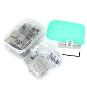 810pcs Bga Reballing Stencils Kit Direct Heating Reballing Jig Bga Template