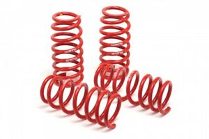 H r Race Lowering Springs 2011 up Ford Mustang Convertible V6 V8