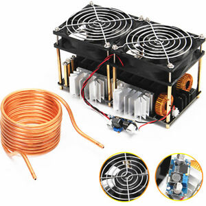 High Quality Zvs Tesla Induction Heating Board 1800w Flyback Driver 40a 12 50v