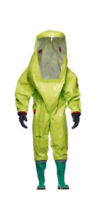 Hazmat Respirex Tychem Tk Suit Type 1a With Attached Boots New