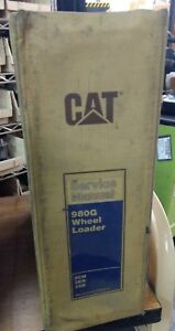 Cat Caterpillar 980g Wheel Loader Service Manual