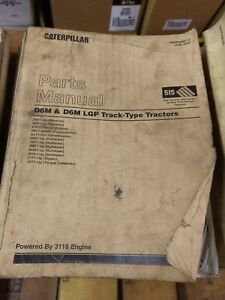 Caterpillar D6m D6m Lgp Track Type Tractors Dozers Parts Manual