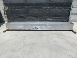 180 Gallon Stainless Tank Open Top Water Trough
