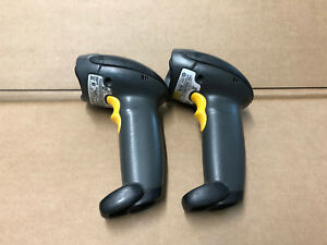 Lot Of 2 Motorola Ds4208 dl00007wr Barcode Scanners