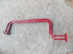 Farmall Super C Sc Tractor Ih Hydraulic Nice Orgnal Set Of Front Steel Oil Lines