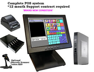 Point Of Sale Pos System Register Touch Screen Restaurant Retail Bar
