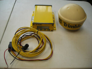 Trimble Aggps System Model Ag132 With Trimble 33580 00 Antenna And Cables