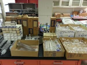 Large Lot Of 400 Pieces Of Lab Glassware Quality Us uk Made Ships From Usa