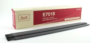 E7018 Low Hydrogen High Tensile Welding Electrode 14 X 1 8 pack 55 Lb