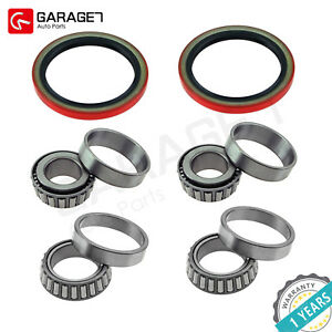 Set Front Wheel Bearing Race Seal Kit Assembly Fit Chevrolet