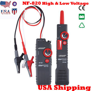 Usa Ship Noyafa High low Voltage Wire Tracker Nf 820 20km Cable Length 2m Depth