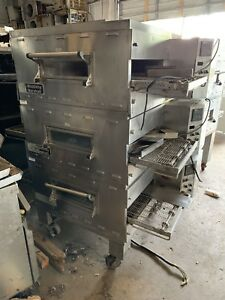 Middleby Marshall Ps536g Triple Stack Gas Ovens